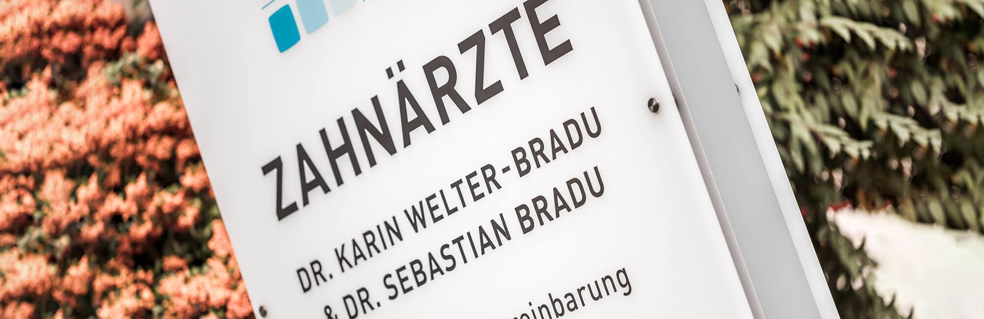 Zahnarzt Grafenberg - Bradu - Leistungen - Kontakt