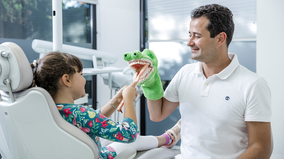 Zahnarzt Grafenberg - Bradu - Kinderzahnheilkunde in unserer Praxis