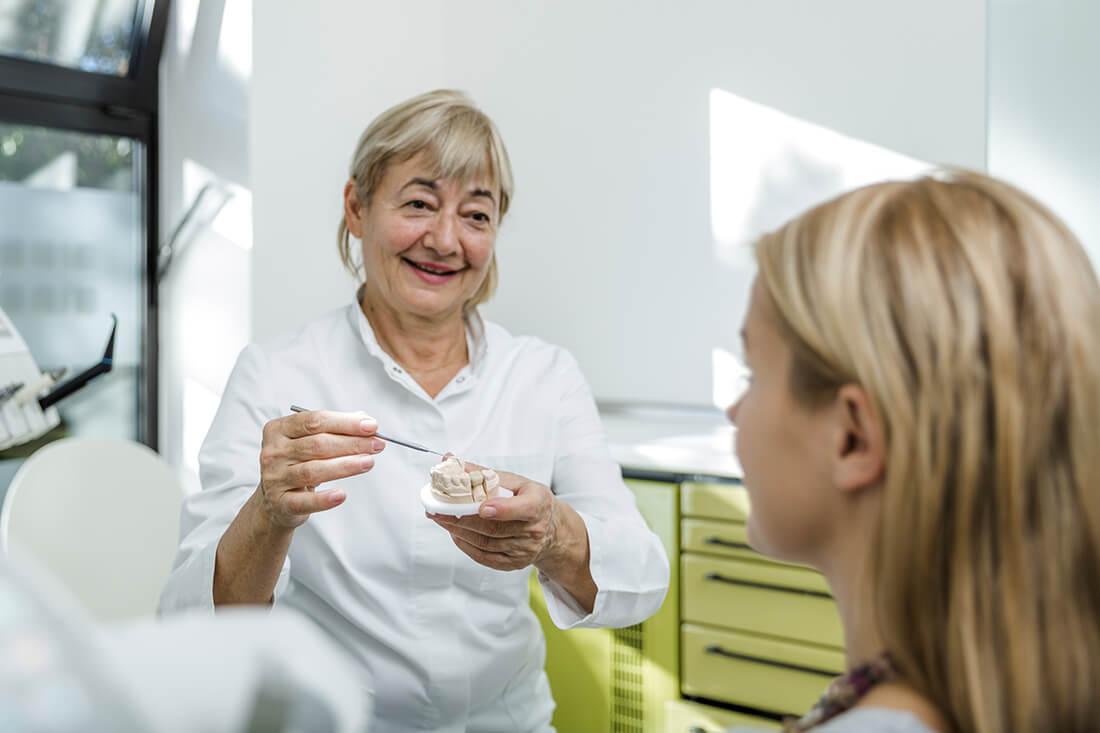 Zahnarzt Grafenberg - Bradu - Leistungen - Ästhetische Zahnheilkunde