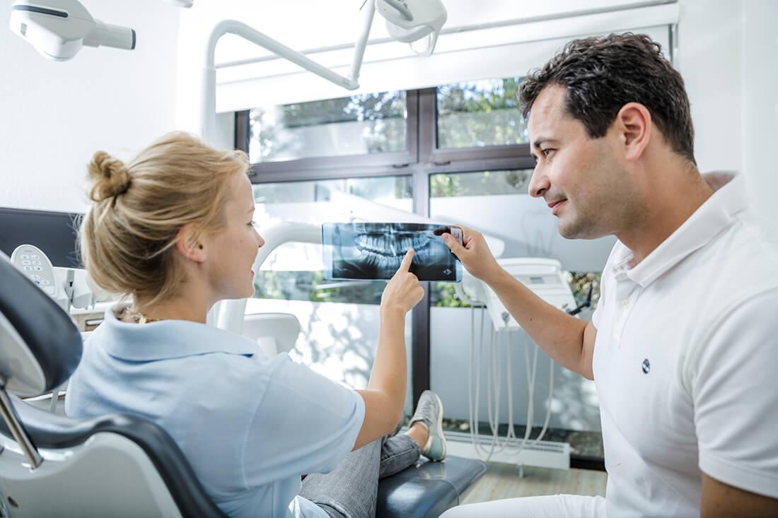Zahnarzt Grafenberg - Bradu - Leistungen - Endodontie